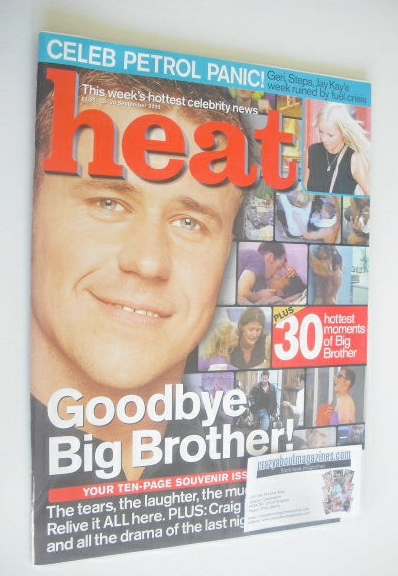 <!--2000-09-23-->Heat magazine - Craig Phillips cover (23-29 September 2000