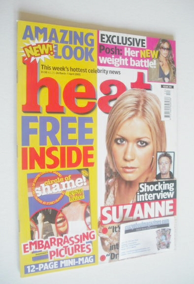 <!--2005-03-26-->Heat magazine - Suzanne Shaw cover (26 March - 1 April 200