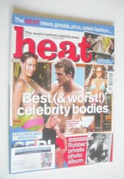 Heat magazine - Best (& Worst!) Celebrity Bodies cover (5-11 October 2002 - Issue 188)