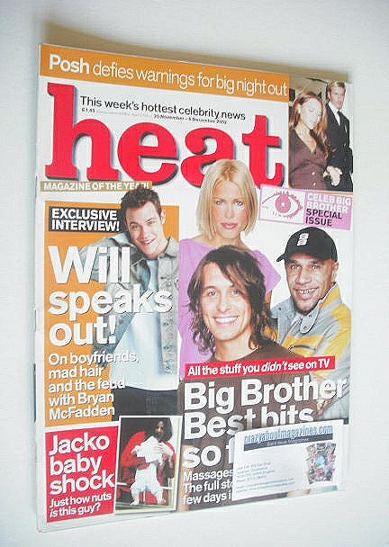 <!--2002-11-30-->Heat magazine - Big Brother Best Bits So Far! cover (30 No