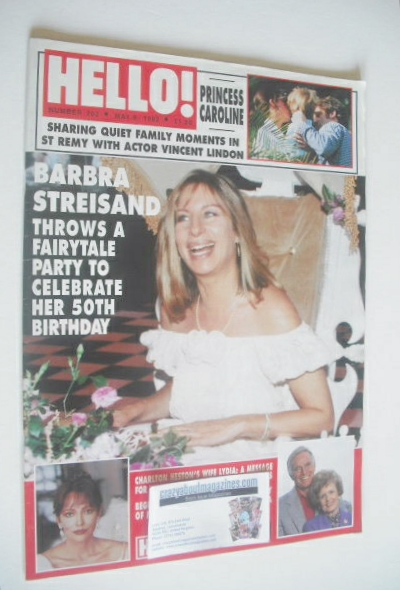 <!--1992-05-09-->Hello! magazine - Barbra Streisand cover (9 May 1992 - Iss