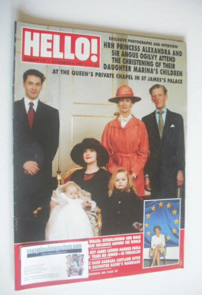 <!--1993-11-06-->Hello! magazine - Princess Alexandra and Sir Angus Ogilvy
