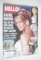 <!--2004-03-02-->Hello! magazine - Rachel Hunter cover (2 March 2004 - Issue 805)