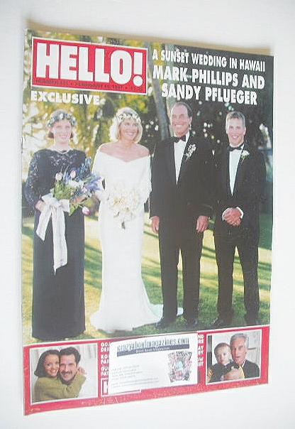 <!--1997-02-15-->Hello! magazine - Mark Phillips and Sandy Pflueger wedding