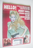 <!--1996-10-26-->Hello! magazine - Jerry Hall cover (26 October 1996 - Issue 430)