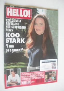 Hello! magazine - Koo Stark cover (24 August 1996 - Issue 421)