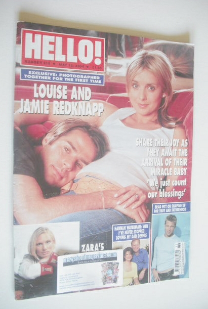 <!--2004-05-18-->Hello! magazine - Louise Redknapp and Jamie Redknapp cover
