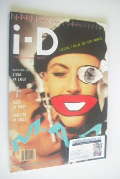 i-D magazine - Scarlett cover (March 1986 - Issue 34)