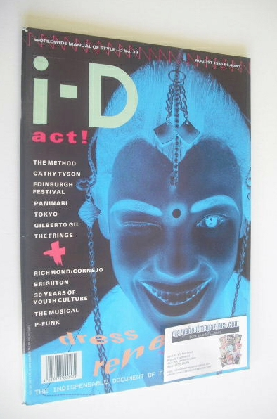 <!--1986-08-->i-D magazine - Naomi Campbell cover (August 1986 - Issue 39)