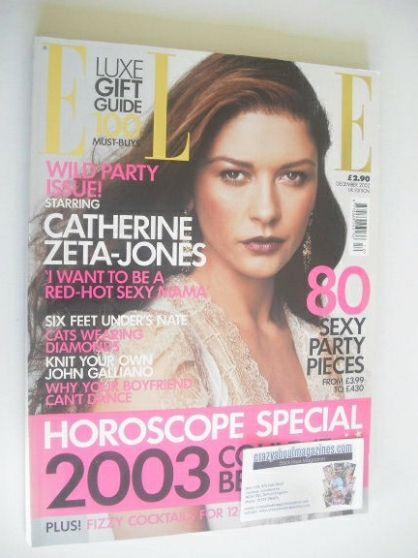 <!--2002-12-->British Elle magazine - December 2002 - Catherine Zeta-Jones