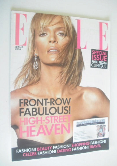 British Elle supplement - Front-Row Fabulous High-Street Heaven supplement