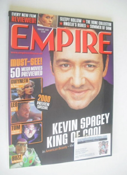 <!--2000-02-->Empire magazine - Kevin Spacey cover (February 2000 - Issue 1