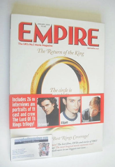 <!--2004-01-->Empire magazine - The Return Of The King cover (January 2004