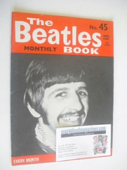 The Beatles Monthly Book - Ringo Starr cover (April 1967 - No 45)