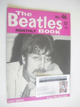 The Beatles Monthly Book - John Lennon cover (May 1967 - No 46)