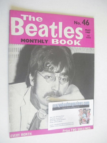 <!--1967-05-->The Beatles Monthly Book - John Lennon cover (May 1967 - No 4