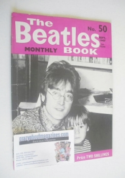 The Beatles Monthly Book - John Lennon cover (September 1967 - No 50)