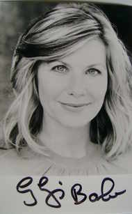 Glynis Barber autograph (hand-signed photograph)