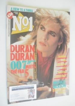 No 1 magazine - Nick Rhodes cover (8 June 1985)