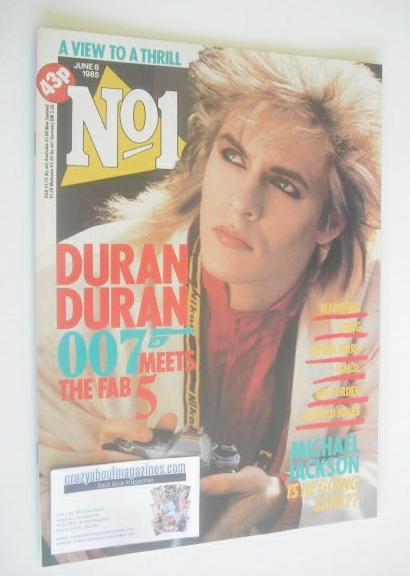 <!--1985-06-08-->No 1 magazine - Nick Rhodes cover (8 June 1985)