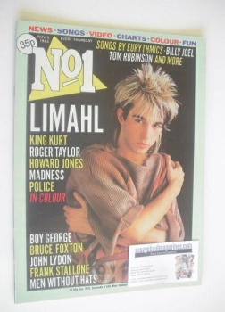 No 1 magazine - Limahl cover (5 November 1983)