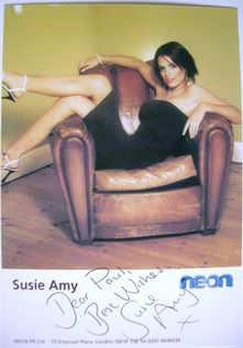 Susie Amy autograph