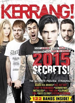 <!--2015-01-10-->Kerrang magazine - 2015 Secrets Issue (10 January 2015 - I