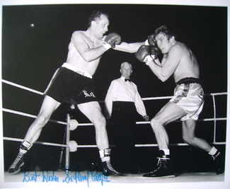 Sir Henry Cooper autograph