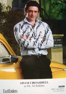 Adam Croasdell autograph (ex EastEnders actor)