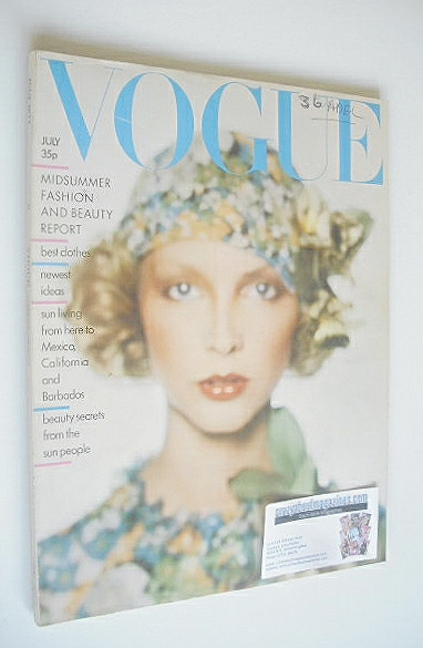 <!--1974-07-->British Vogue magazine - July 1974