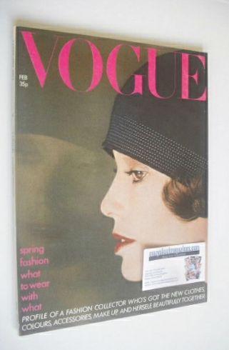 <!--1974-02-->British Vogue magazine - February 1974