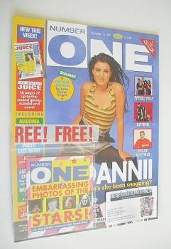 NUMBER ONE Magazine - Dannii Minogue cover (12 October 1991)