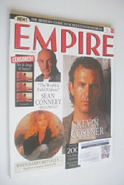 <!--1989-10-->Empire magazine - Kevin Costner cover (October 1989 - Issue 4