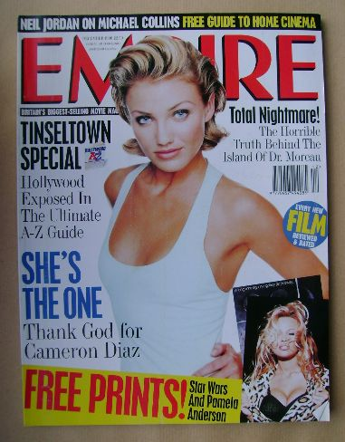 <!--1996-12-->Empire magazine - Cameron Diaz cover (December 1996 - Issue 9