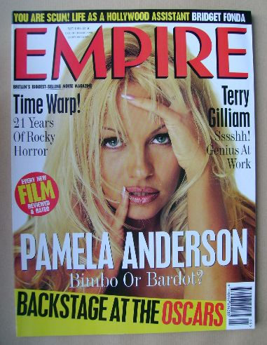 <!--1996-05-->Empire magazine - Pamela Anderson cover (May 1996 - Issue 83)