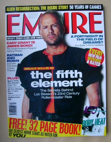 <!--1997-07-->Empire magazine - Bruce Willis cover (July 1997 - Issue 97)