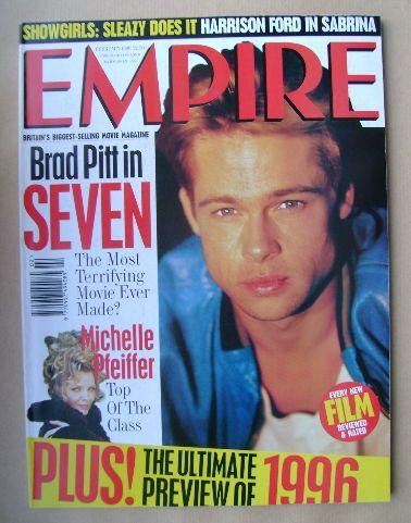 <!--1996-02-->Empire magazine - Brad Pitt cover (February 1996 - Issue 80)