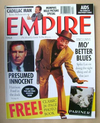 <!--1990-10-->Empire magazine - Spike Lee cover (October 1990 - Issue 16)