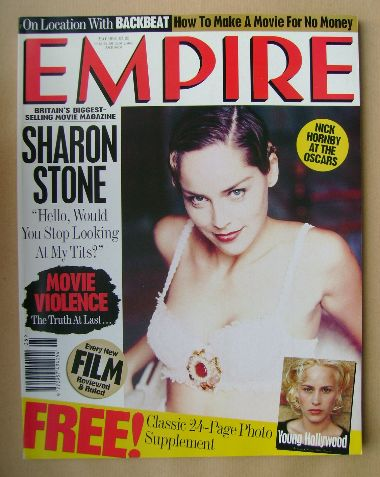 <!--1994-05-->Empire magazine - Sharon Stone cover (May 1994 - Issue 59)