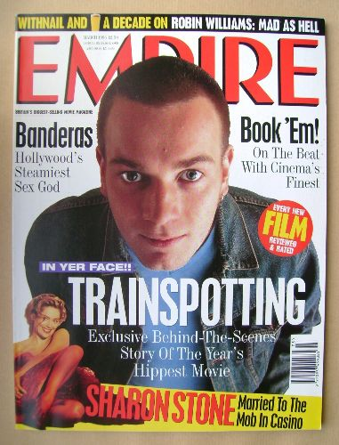 <!--1996-03-->Empire magazine - Ewan McGregor cover (March 1996 - Issue 81)