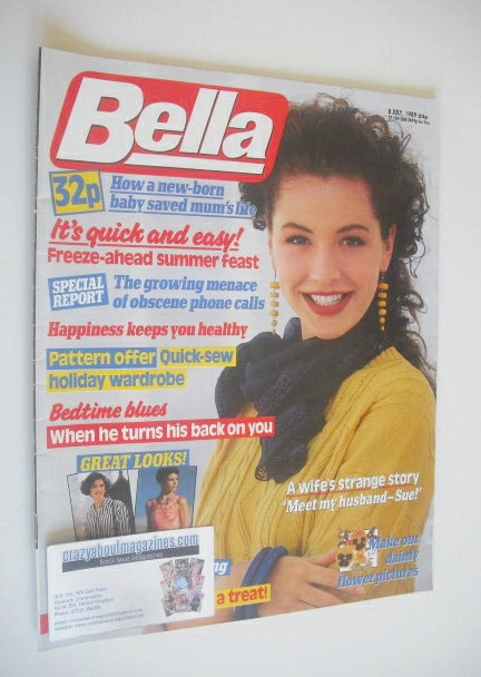 <!--1989-07-08-->Bella magazine - 8 July 1989