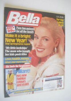 <!--1988-12-31-->Bella magazine - 31 December 1988