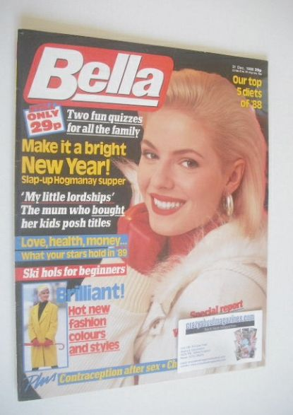 <!--1988-12-31-->Bella magazine - 31 December 1988