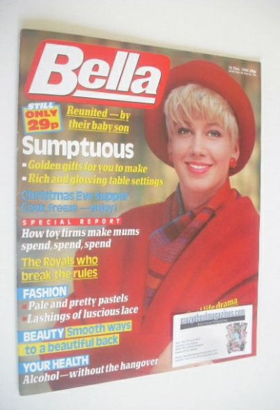 <!--1988-12-10-->Bella magazine - 10 December 1988