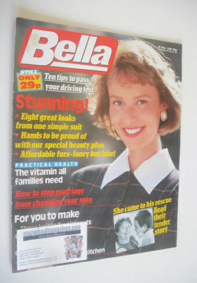 <!--1988-11-26-->Bella magazine - 26 November 1988