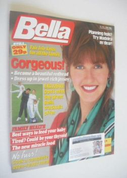 Bella magazine - 22 October 1988