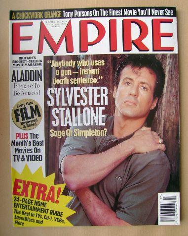 <!--1993-12-->Empire magazine - Sylvester Stallone cover (December 1993 - I