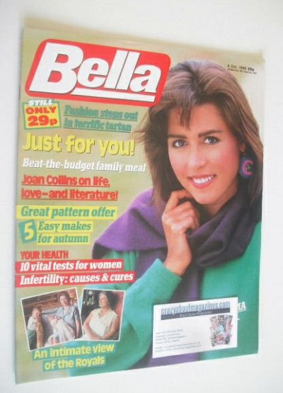 <!--1988-10-08-->Bella magazine - 8 October 1988