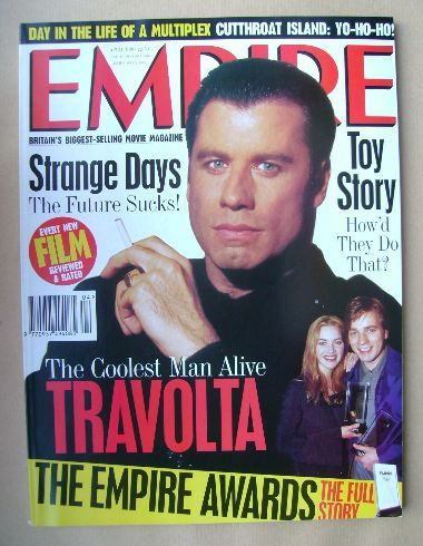<!--1996-04-->Empire magazine - John Travolta cover (April 1996 - Issue 82)