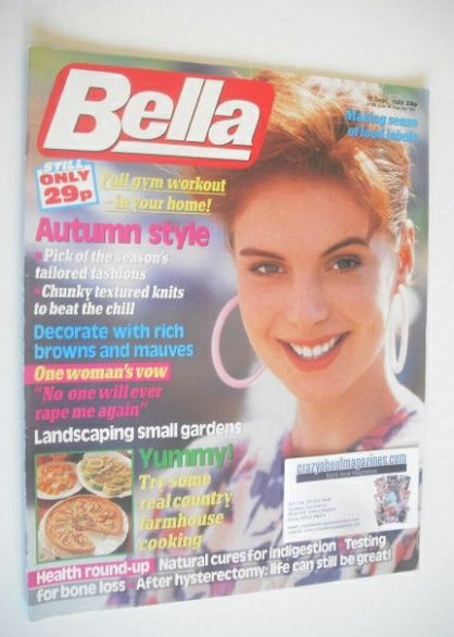 <!--1988-09-17-->Bella magazine - 17 September 1988